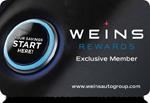 weins rewards card